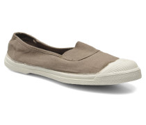 Tennis Elastique Ballerinas in grau