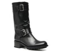 Biker 4 Mid Strap Stiefeletten & Boots in schwarz