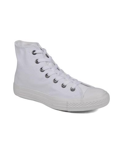 Chuck Taylor All Star Monochrome Canvas Hi W Sneaker in weiß