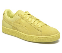 Suede Classic Casual W Sneaker in gelb