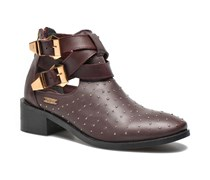 Angie Vintage Stiefeletten & Boots in weinrot