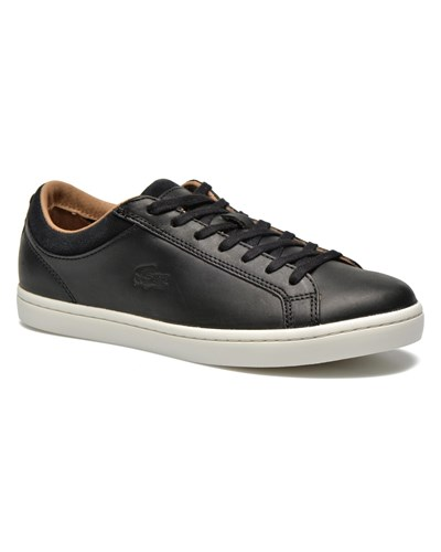 lacoste herren sale 46 lacoste straightset crf sneaker f r herren schwarz 46 reduziert. Black Bedroom Furniture Sets. Home Design Ideas