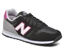 WL373 Sneaker in schwarz