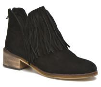 Laure Leather Boot Stiefeletten & Boots in schwarz