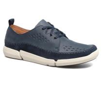 Trifri Lace Sneaker in blau