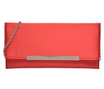 Pochette satin Mini Bags für Taschen in rot