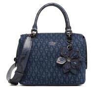 Sibyl Box Satchel Handtasche in blau
