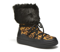 Lodgepoint Lace Boot W Stiefeletten & Boots in schwarz