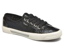 Aberlady Crackle Sneaker in schwarz