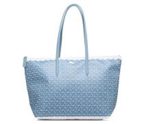 L1212 Shopping bag Croc L Handtaschen für Taschen in blau