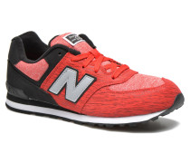 KL574 J Sneaker in rot