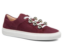 Germain Sneaker in weinrot