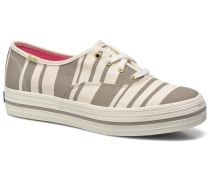 Triple Fairemont Stripe Sneaker in grau