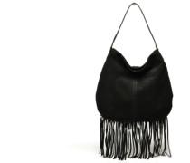 Tabatha suede Obo bag Handtaschen für Taschen in schwarz
