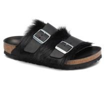 Arizona Fur Hausschuhe in schwarz