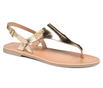 Baccara Sandalen in goldinbronze