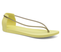 Philippe Starck Thing N Fem Sandalen in gelb