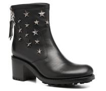 Biker 7 Zip Boot Star Stiefeletten & Boots in schwarz