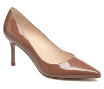 Bianca Pumps in braun