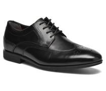 Styleconnected Wing Tip Schnürschuhe in schwarz