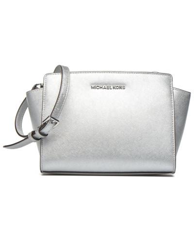 SELMA MD Messenger Handtaschen für Taschen in silber
