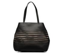 MIXBURY VINE Cabas Handtasche in schwarz