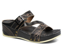 Vallon Clogs & Pantoletten in schwarz