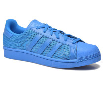 Superstar Sneaker in blau