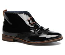 Nougat Schnürschuhe in schwarz