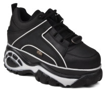 Texas Oil Sneaker in schwarz