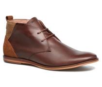 Swan Desert Scotola Picasso Stiefeletten & Boots in weinrot