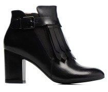 Queens Cross #3 Stiefeletten & Boots in schwarz