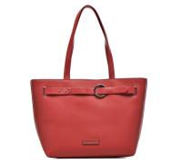 Fawn Shopper Cabas Handtaschen für Taschen in weinrot
