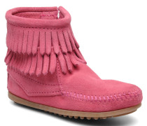 Double Fringe bootie G Stiefeletten & Boots in rosa