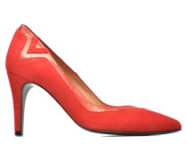 Glossy Cindy #6 Pumps in rot