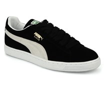 Suede Classic + Sneaker in schwarz