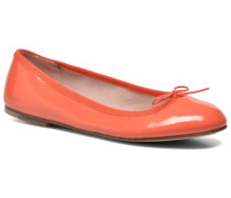 Soft Patent ballerina Ballerinas in orange