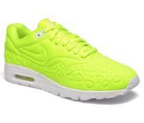 W Air Max 1 Ultra Plush Sneaker in gelb