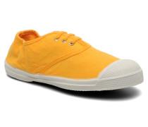 Tennis Lacets E Sneaker in gelb