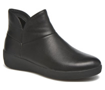Supermod Leather Ankle Boots Stiefeletten & in schwarz