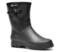 Icare Fur Stiefeletten & Boots in schwarz