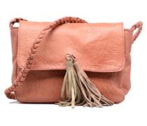 Frabo Leather Crossover bag Handtaschen für Taschen in rosa