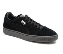 Suede Mono Ref Sneaker in schwarz