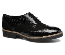 Faune Schnürschuhe in schwarz