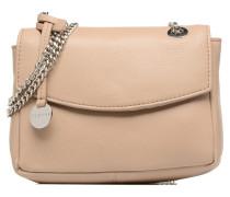 Chain leather Handtaschen für Taschen in beige