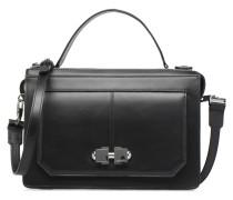 FULL JOY Double Zip Handtaschen für Taschen in schwarz