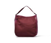 AMOR Sac porté épaule verni et glitter Handtaschen für Taschen in weinrot