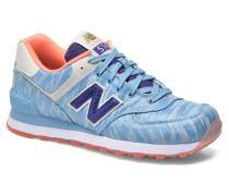 WL574 Sneaker in blau