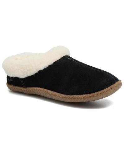 Rabatt Billigsten Verkauf Sast Sorel Damen Nakiska Hausschuhe in schwarz HTYJt