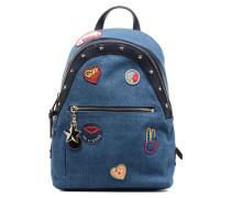 Gigi Hadid Backpack Denim Rucksäcke für Taschen in blau